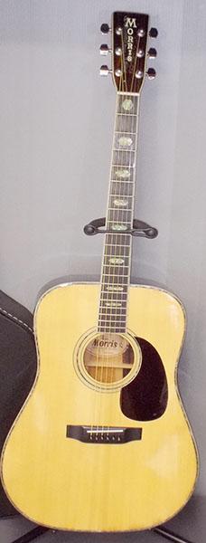 Morris アコースティックギター W-40| ハードオフ西尾店