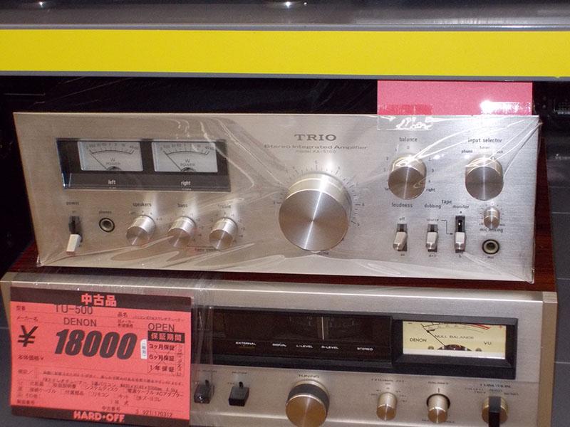 TRIO/トリオ プリメインアンプ KA-5100| ハードオフ西尾店