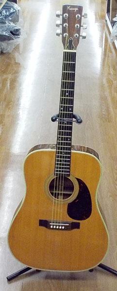 KASUGA アコースティックギター MW-F CUSTOM| ハードオフ西尾店