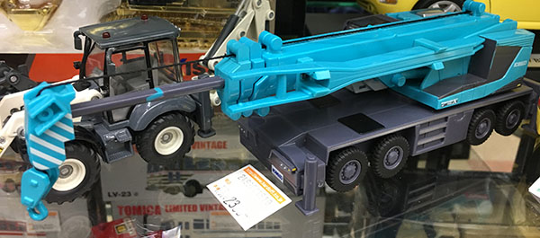 KOBELCO スケールモデル PANTHER700X入荷しました。| ハードオフ三河安城店