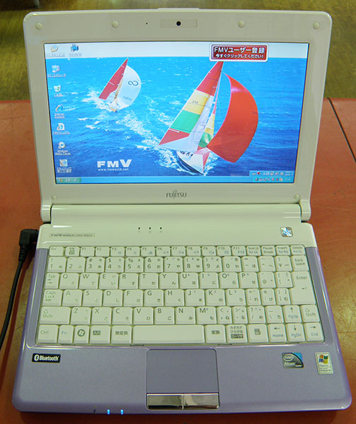 FUJITSU  ノートパソコン FMVLMD15V| ハードオフ安城店