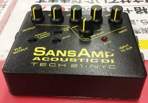 TECH21 エフェクター SANS AMP ACOUSTIC DI 入荷しました。| ハードオフ三河安城店