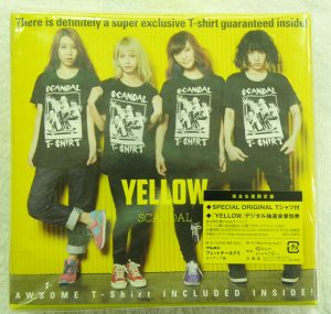 CD  SCANDAL  YELLOW(完全生産限定盤)(Tシャツ付)| ハードオフ安城店
