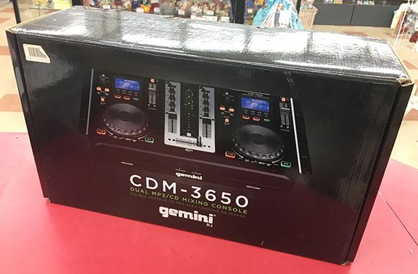 gemini デュアルCDJプレーヤー CDM-3650入荷しました| ハードオフ三河安城店