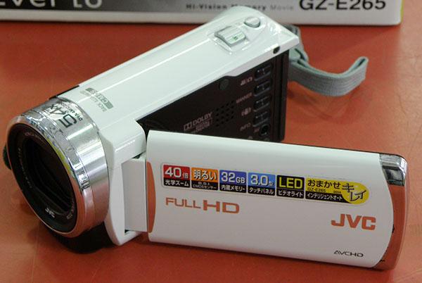 JVC  ハイビジョンメモリームービー GZ-E265| ハードオフ安城店