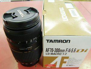 カメラ用レンズAF 70-300mm F4-5.6 Di LD Macro| ハードオフ安城店
