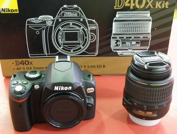 Nikon D40X Kit  デジタルカメラ| ハードオフ安城店