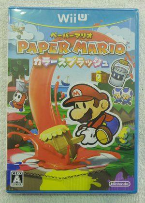 Wii U   ペーパーマリオ カラースプラッシュ| ハードオフ安城店