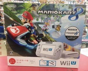 任天堂 WiiU WUP-101 マリオカート8セット 32GB シロ 入荷しました。| ハードオフ三河安城店
