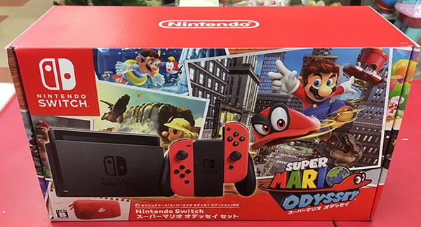 任天堂Switch HAC-001 スーパーマリオ オデッセイセット入荷しました!| ハードオフ三河安城店