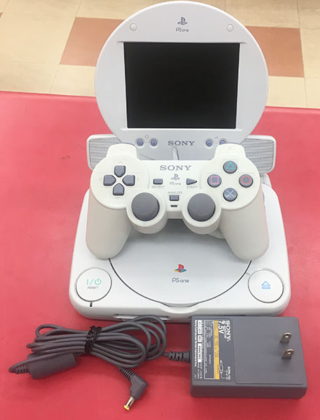 SONY Play Station one SCPH-140 &専用モニターセット PS COMBO 入荷しました| ハードオフ三河安城店