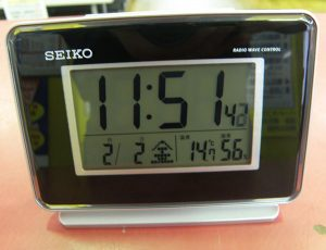 SEIKO SQ767K  電波目覚まし時計| ハードオフ安城店