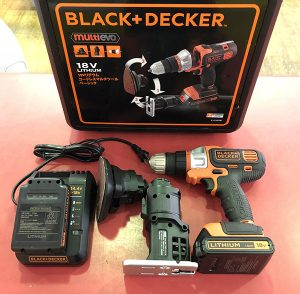 BLACK&DECKER 18Vリチウムマルチツールベーシック EVO183B1| ハードオフ安城店