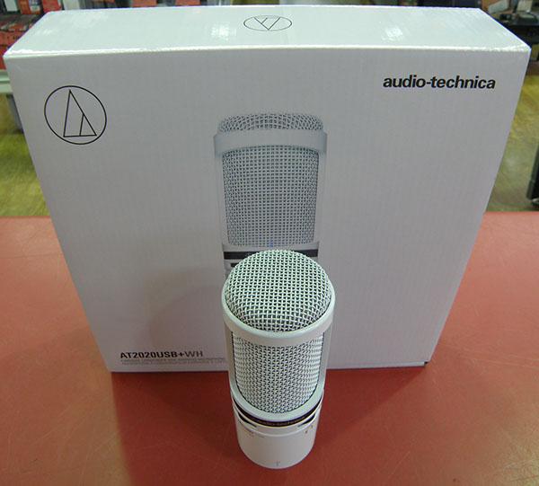 audio technica  コンデンサーマイクロホン AT2020USB+WH| ハードオフ安城店