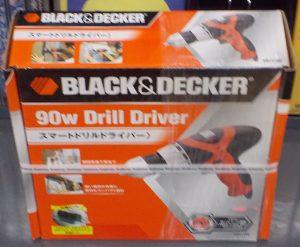 BLACK & DECKER ドリルドライバー KR111RE| ハードオフ 西尾店