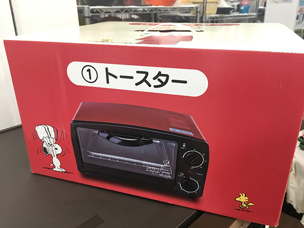 未使用!サンリオのスヌーピーのトースターが入荷しました!| オフハウス豊田上郷店