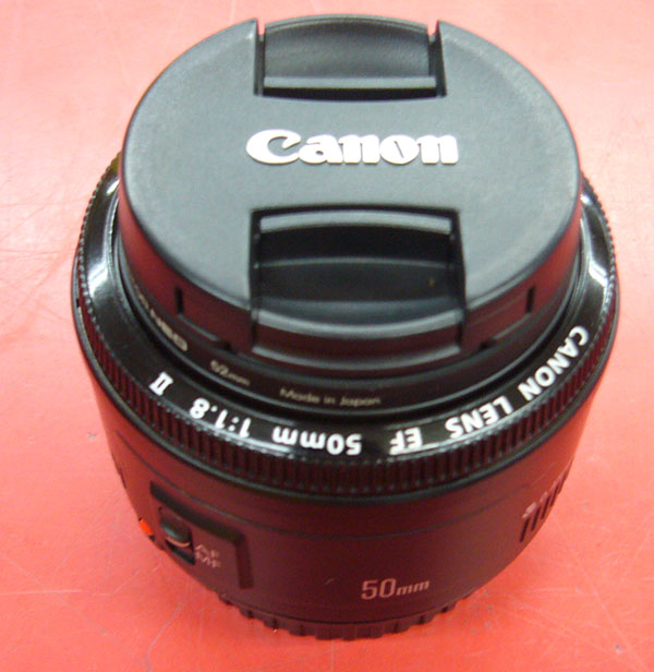 Canon  単焦点レンズ  EF 50mm 1:1.8 II| ハードオフ豊田上郷店