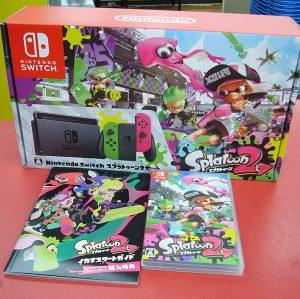 Nintendo Switch スプラトゥーン2セット| ハードオフ豊田上郷店