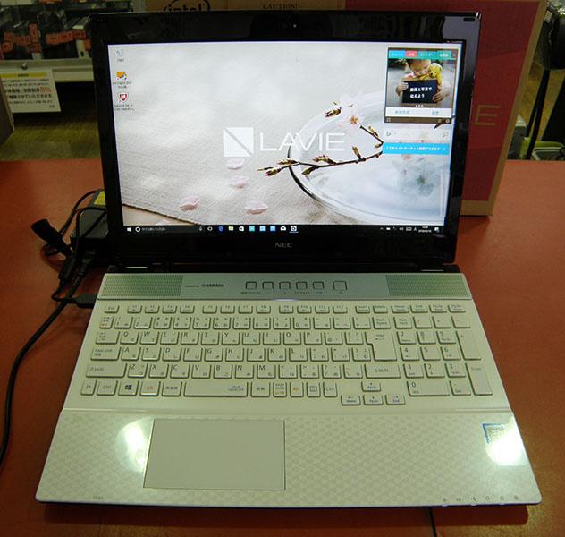 NEC  ノートパソコン PC-NS750GAW-E3| ハードオフ安城店