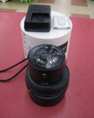レンズ型デジカメ SONY サイバーショット DSC-QX10| ハードオフ三河安城店