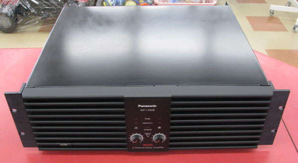 Panasonic PA用パワーアンプ WP-1400B| ハードオフ三河安城店