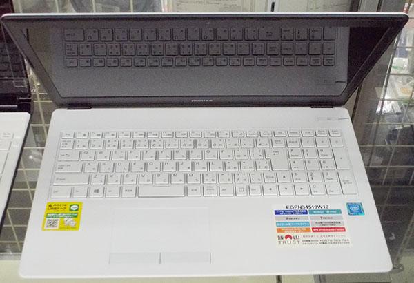 マウスコンピューター ノートパソコン EGPN34510W10| ハードオフ西尾店