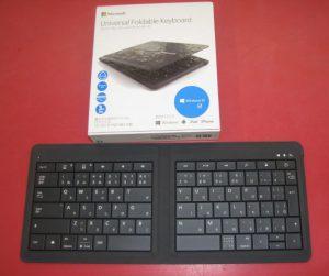 Microsoft Bluetoothキーボード Universal Foldable Keyboard 入荷しました。| ハードオフ三河安城店
