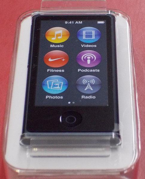 APPLE オーディオプレイヤー iPod nano MD481J| ハードオフ西尾店