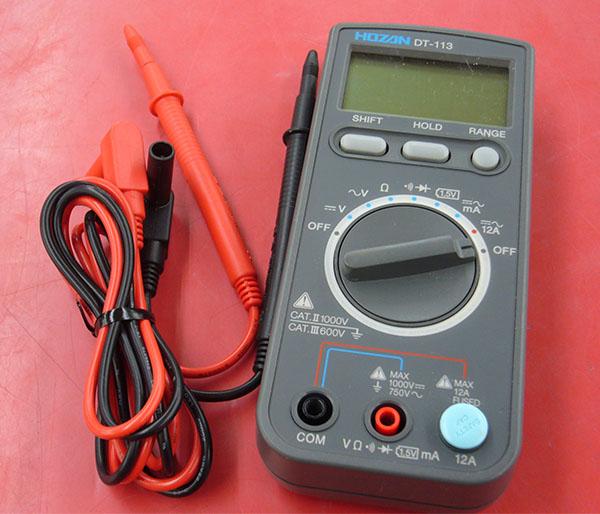 デジタルマルチメーター HOZAN DT-113| ハードオフ豊田上郷店
