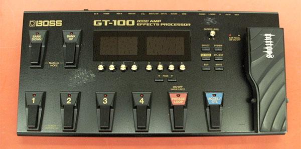 マルチエフェクター BOSS GT-100 | ハードオフ豊田上郷店