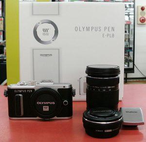 OLYMPUS ミラーレス一眼カメラ PEN E-PL8 EZダブルズームキット| ハードオフ豊田上郷店