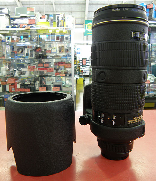 Nikon  カメラ用ズームレンズ AF-S Zoom Nikkor ED 80~200mm F2.8D| ハードオフ安城店