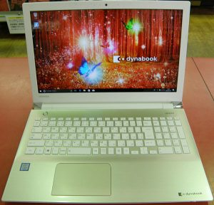 TOSHIBA  ノートパソコン PT65CGP-RJB| ハードオフ安城店