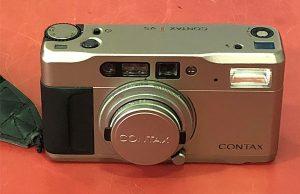 CONTAX TVS フィルムカメラ| ハードオフ安城店