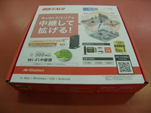 BUFFALO  Wi-Fi中継機 WEX-G300| ハードオフ安城店
