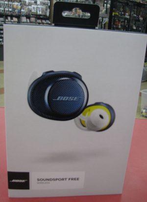 BOSEのBluetoothワイヤレスイヤホン SOUNDSPORT FREE WIRELESS 買取させて頂きました。| ハードオフ三河安城店