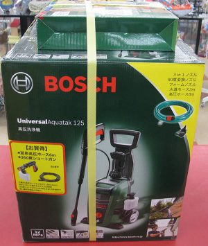 BOSCHの高圧洗浄機 UA125買取させて頂きました。| ハードオフ三河安城店