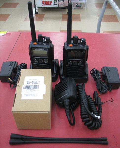 STABNDARD 携帯型デジタルトランシーバー VXD20 入荷しました| ハードオフ三河安城店