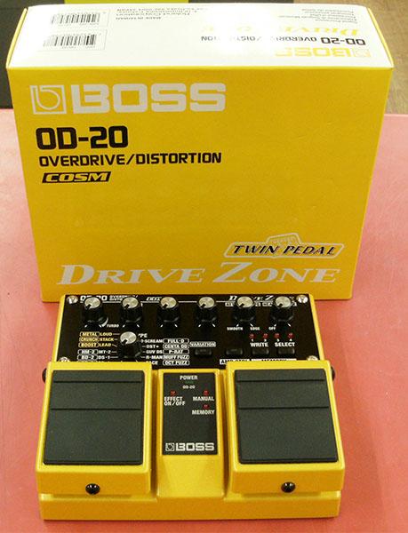 BOSS エフェクター OD-20| ハードオフ豊田上郷店