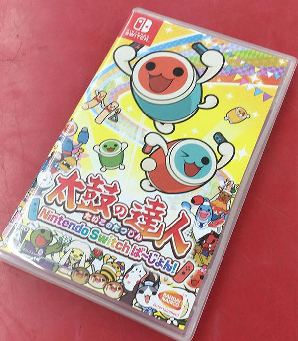 バンダイナムコ   太鼓の達人 Nintendo switch ば~じょん| ハードオフ豊田上郷店