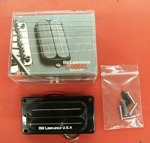 BILL LAWRENCE  PU  L500XL Black| ハードオフ豊田上郷店