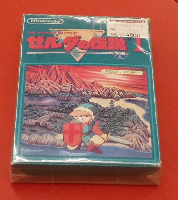 Nintendo/任天堂 ゼルダの伝説1 HVC-ZL| ハードオフ西尾店
