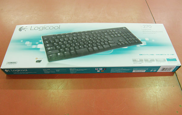 Logicool  ワイヤレスキーボード K270| ハードオフ安城店