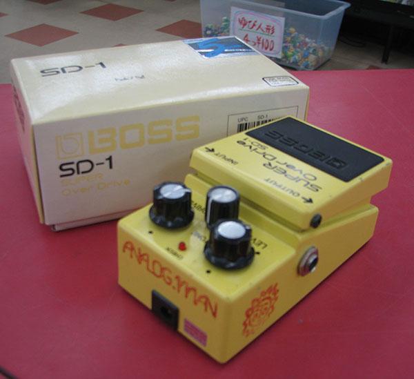 ANALOG.MAN エフェクター SD-1 / 808 with Push / Pull| ハードオフ三河安城店