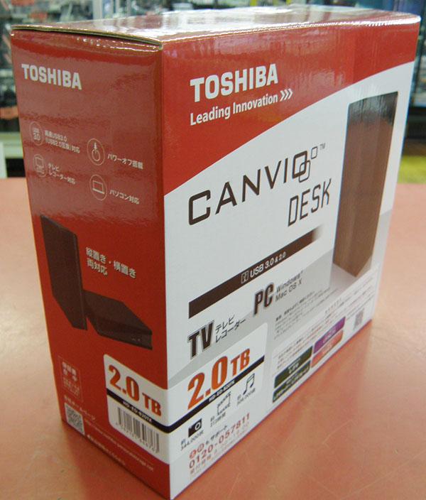 TOSHIBA  外付けHDD HD-ED-B20TK| ハードオフ安城店