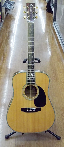 Morris アコースティックギター W-100D| ハードオフ西尾店