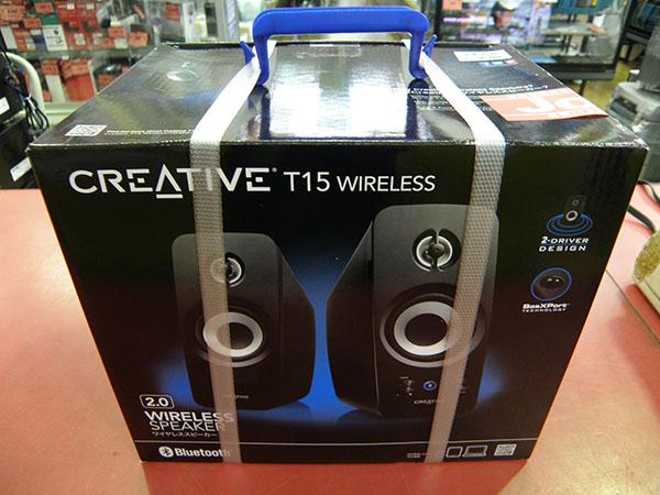 Creative  ワイヤレススピーカー SP-T15W| ハードオフ安城店