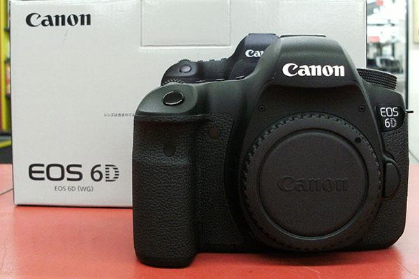 Canon デジタル一眼レフカメラ EOS 6D ボディ| ハードオフ豊田上郷店