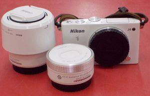 Nikon/ニコン ミラーレス一眼ダブルズームキット Nikon 1 J4| ハードオフ西尾店