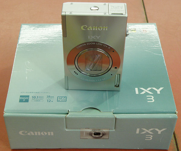 Canon  デジタルカメラ IXY 3| ハードオフ安城店